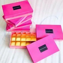 Rectangular Custom Printed Chocolate Cavity Box