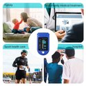 Oriley  Fingertip Pulse Oximeter With Oled Display Blood Oxygen Spo2 Saturation Heart Rate Monitor