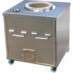 Square Stainless Steel Tandoor, For Restaurant, Capacity: 15 Chapati At One Time