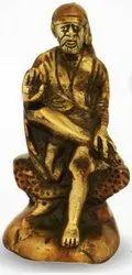 530 Gm Brass Statue Sai Baba