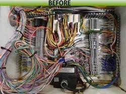 panel retrofitting work