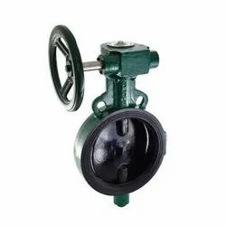 1078A Sg Iron Disc Gear Operated Wafer Butterfly Valve