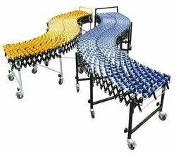 RADHEIoT Skate Wheel Flexible Conveyors