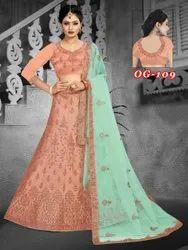 Bridal Silk Lahenga