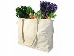 Cotton Gusset Grocery Carry Bag