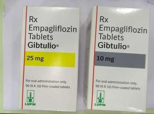 Gibtulio 10mg And 25mg Empagliflozin Tablets, Lupin Ltd, Prescription, |  ID: 22540885691