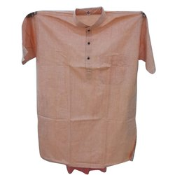 Cotton Casual Mens Half Sleeve Punjabi Kurta, Chinese, Size/Dimension: 44