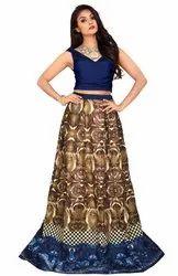 Jacquard Bridal Wear Richa Fashion World Lehengas