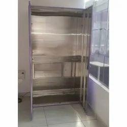 Rectangular Stainless Steel Wardrobe Cabinet