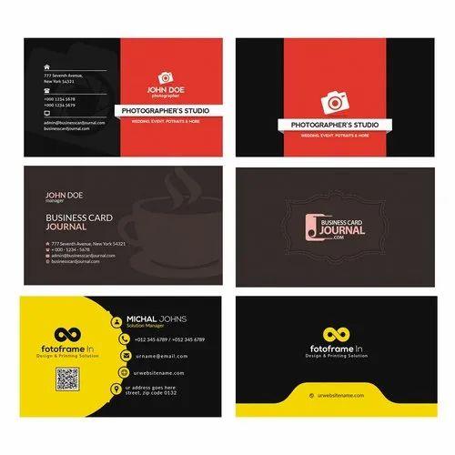 Paper Digital Visiting Card Printing Services, in Kolkata