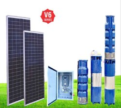 5 to 20 HP V6 Series Solar Water Pump