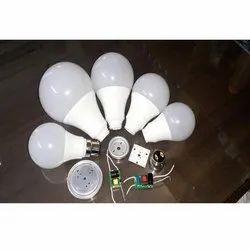 Syska Type LED Bulb Raw Material, 3W, Shape: Round