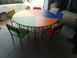 Steel Round Table