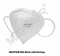 BIS Approved Mayfair N95 Face Mask Earloop 5 Layer
