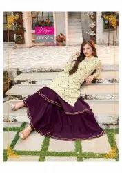 Diya Trendz Fashion Era Vol-1 Kurti With Plazzo Sharara and Skirt Catalog