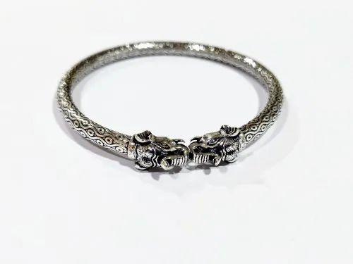 925 Sterling Silver Designer Bangles For Women
