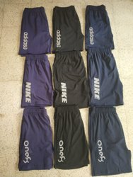 Thigh Length Sports Wear Four Way Lycra shorts, 2