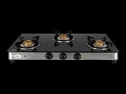 Kraft Italy 3 Burner Medona Gas Stove, For Kitchen
