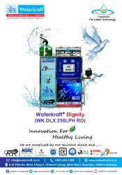 Waterkraft DLX 250LPH Digital RO