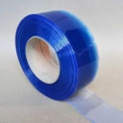 Cross Air Blue PVC Strip Curtains, Thickness: 1 Mm To 5 Mm, Size: 200 Mm To 300 Mm (Width Range)