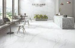 Simola Glossy Satvario Bianco Soft Marble Tiles, Size: 800 x 1600 mm, Thickness: 9 mm