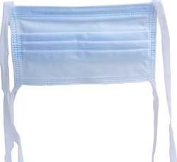 Disposable Surgical 3 Ply Face Mask With Tie Rope