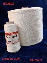 1/20 Viscose 100% Grey Yarn 20/1 Or 20