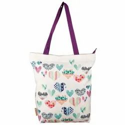 Nostaljia's Printed NTB59-3 Ladies Tote Bag