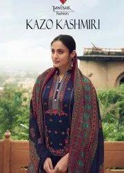Tanishk Fashion Kazo Kashmiri Jam Cotton Suits Catalog