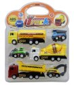 Sanchi Creation Sunshine Unbreakable Motorcade Automobile Truck Toy (multicolor, Pack Of: 5)