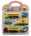 Sanchi Creation Sunshine Unbreakable Motorcade Automobile Truck Toy (multicolor, Pack Of: 5)