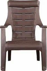 Brown Nilkamal Plastic Chair