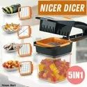 5 In 1 Nicer Dicer Vegetable & Fruit Chopper
