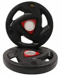 Winner Enterprises Black and Red Round Weight Plate, Weight: 7.5 Kg