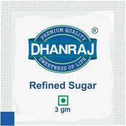 White Refined Sugar Sachet