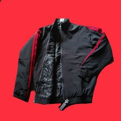 Polyester Full Sleeves Mens Designer Sports Jacket
