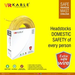 VR Kable 4.00 Sq Mm Extra Safe Wire, 90m