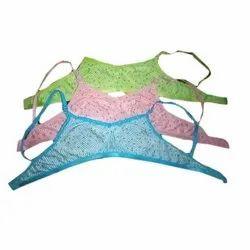 Hosiery Printed Fancy Cotton Bra, For Inner Wear, Size: 32-36