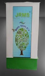 Green FRP Bio Toilet