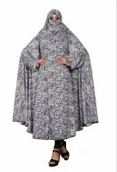 Printed Viscose Lycra Chaderi Abaya Burqa For Women