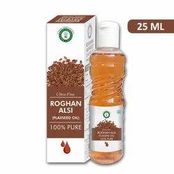 Ultra Fine Roghan Alsi 25 ML (Flaxseed Oil)