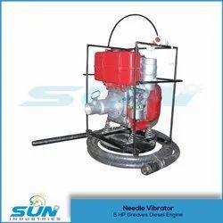 Diesel Needle Concrete Vibrator