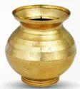 Brass Small Puja Kalash