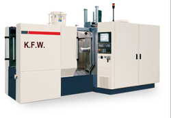 Kpower Khmc Horizontal Machining Centre, Spindle Speed: 600, Pallet Size: 400