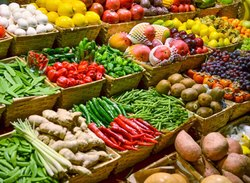 A Grade Green Wholesale Vegetables, Bags, 1KG