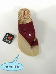 Poddar Ladies Printed Slipper LC-1556