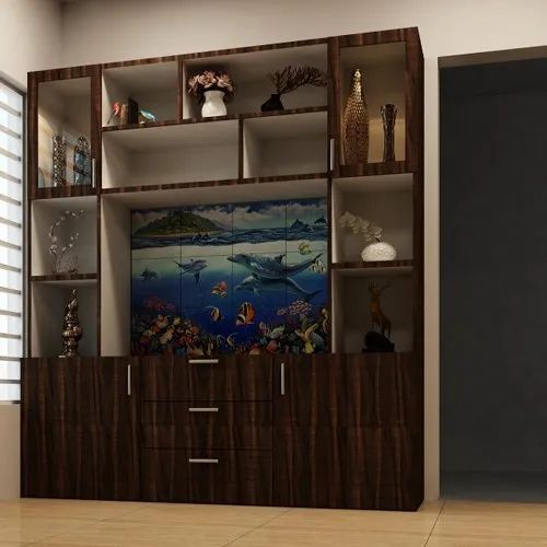 Wooden Brown Living Room Fish Aquarium For Home Rs 2600 Piece Id 22525007312