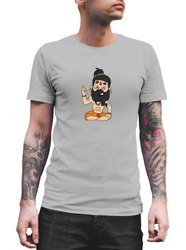 Half Sleeve Mens Foxvenue Casual Wear T Shirt, Size: Small - Extra Large