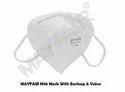 Mayfair N95 Face Mask Earloop & Valve