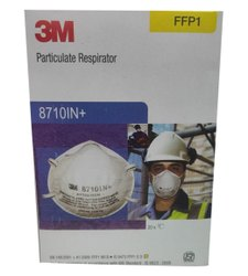 3M 8710IN Safety Face Mask, Number of Layers: 5 Layers